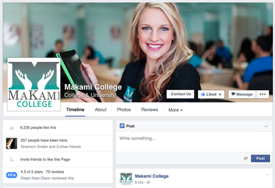 MaKami-College-Facebook