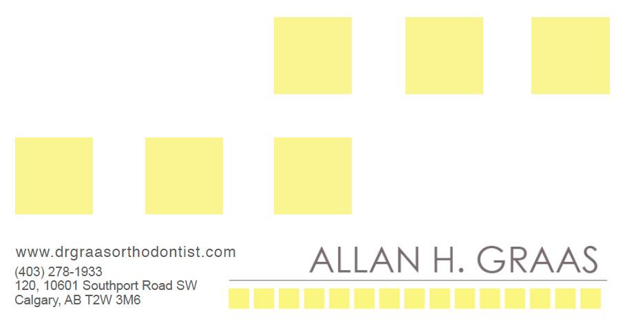 Calgary Orthodontist Dr. Allan Graas