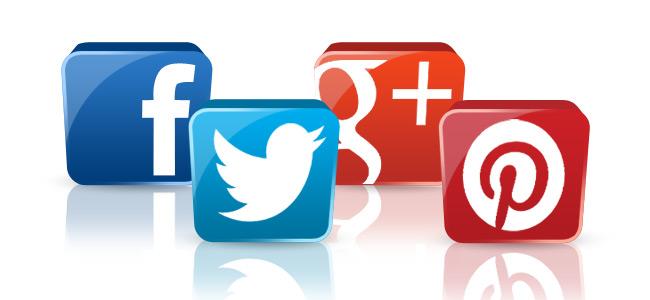 FacebookTwitterGooglePlusPinterestIcons