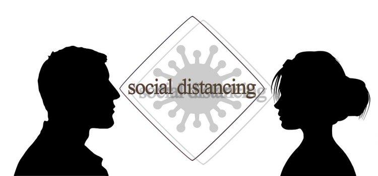 Social Distancing and Social Media